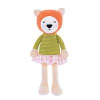 Мягкая игрушка Кот в свитере, 24 см