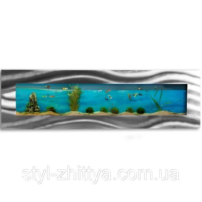 Підвісний акваріум-картина 1525x430x110 мм