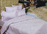 Жаккардовое постельное белье Deco Bianca сатин jk16-01 лиловое евро размер 81cdc2bf3e188