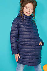 Детская удлиненная куртка на девочку Никса NUI VERY (нью вери), фото 2