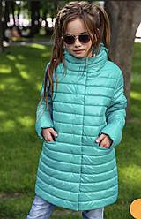 Детская удлиненная куртка на девочку Никса NUI VERY (нью вери)