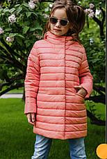 Детская удлиненная куртка на девочку Никса NUI VERY (нью вери), фото 3