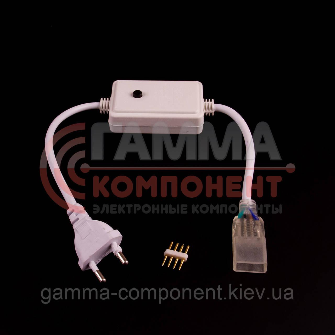 Адаптер питания для светодиодной ленты RGB smd 5050-60 лед/м + контроллер + коннектор 4pin