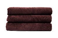 Махровое полотенце банное 70х140 см Шоколад