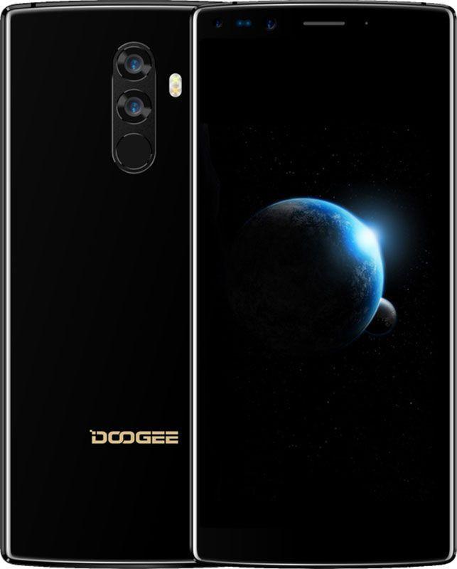 """Смартфон Doogee MIX 2 6/128Gb Black, 16+13/8+8Мп, 2SIM, экран 5.99"""" IPS, 4060mAh, GPS, 4G, 8 ядер, Helio P25"""