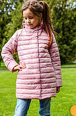 Осенний утепленный плащ на девочку Никса NUI VERY (нью вери), фото 3