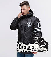 Парка демисезонная молодежная Braggart Youth - 31292E-1 черный