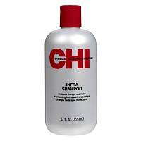 Шампунь CHI Infra увлажняющий с шелком для всех типов волос