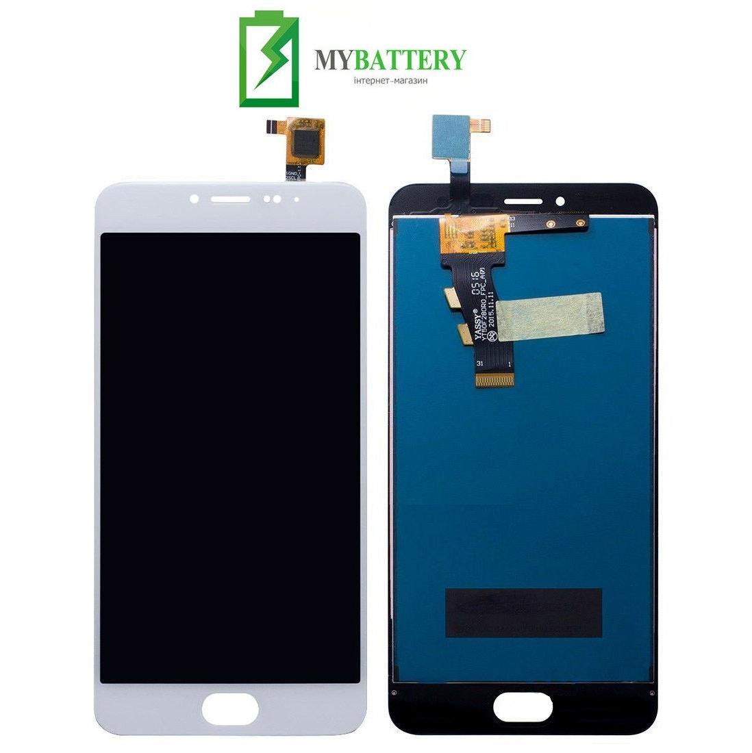 Дисплей (LCD) Meizu M3/M3 mini (M688H) с сенсором белый