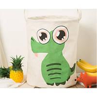 Корзина для игрушек Kidsgarden d-35 cm (crocodile) (арт.20158)