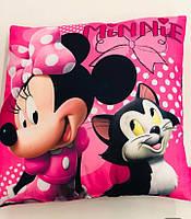 Подушка для девочек оптом, Disney, 40*40 см,  № MIN-H-PILLOW-49