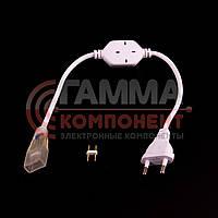 Адаптер питания для светодиодной ленты 220В 3014-120 лед/м + коннектор 2pin, фото 1