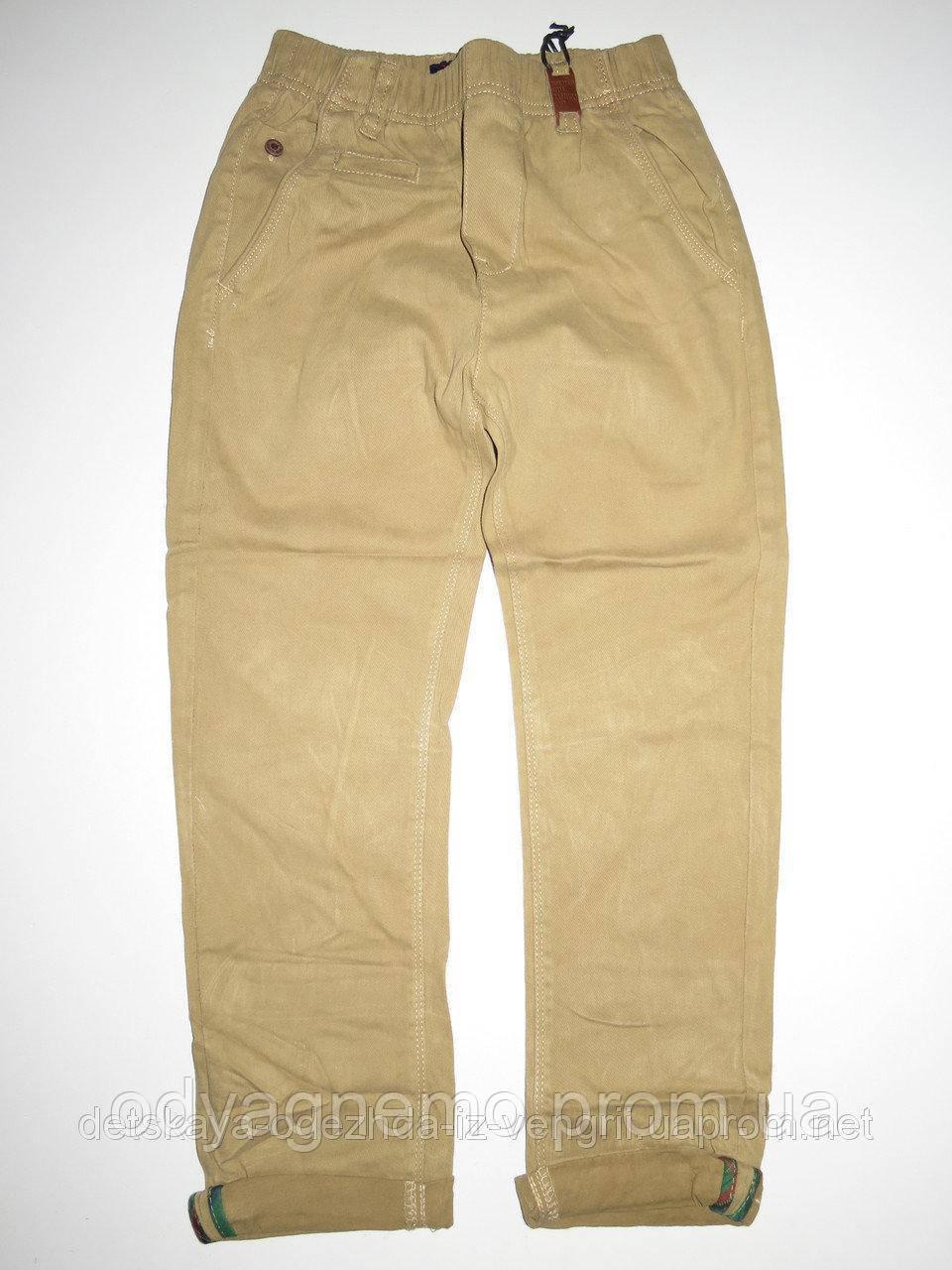 Котоновые брюки для мальчиков Grace оптом , 116-146 рр