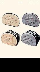 Маленькая светло-серая сумка