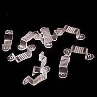 Монтажная клипса для светодиодной ленты 220В 3014-120 лед/м