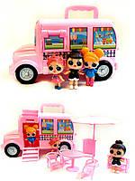 Куколки LOL на розовом автобусе, фото 1