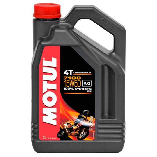 Масло моторное Motul 7100 4T 15W-50 4л