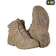 Ботинки тактические гидрофобные M-Tac Alligator койот