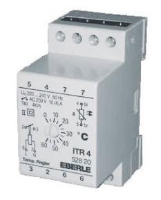 Механический терморегулятор Eberle ITR 4