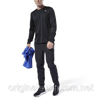 Футболка с длинным рукавом Рибок Run Essentials DU4298  , фото 2