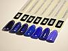 Гель лак Коди 100B Синие оттенки, 8ml, фото 3