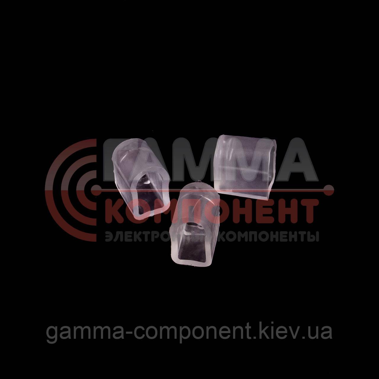 Заглушка для светодиодного неона RGB 220B AVT smd 5050-72 лед/м