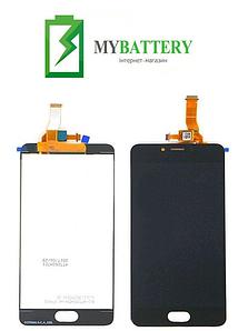 Дисплей (LCD) Meizu M5c (M710h) с сенсором черный