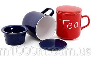 """Чашка заварочная керамическая """"Tea"""" BonaDi"""