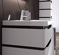 Тумба для ванной Алесса Air с умывальником, венге