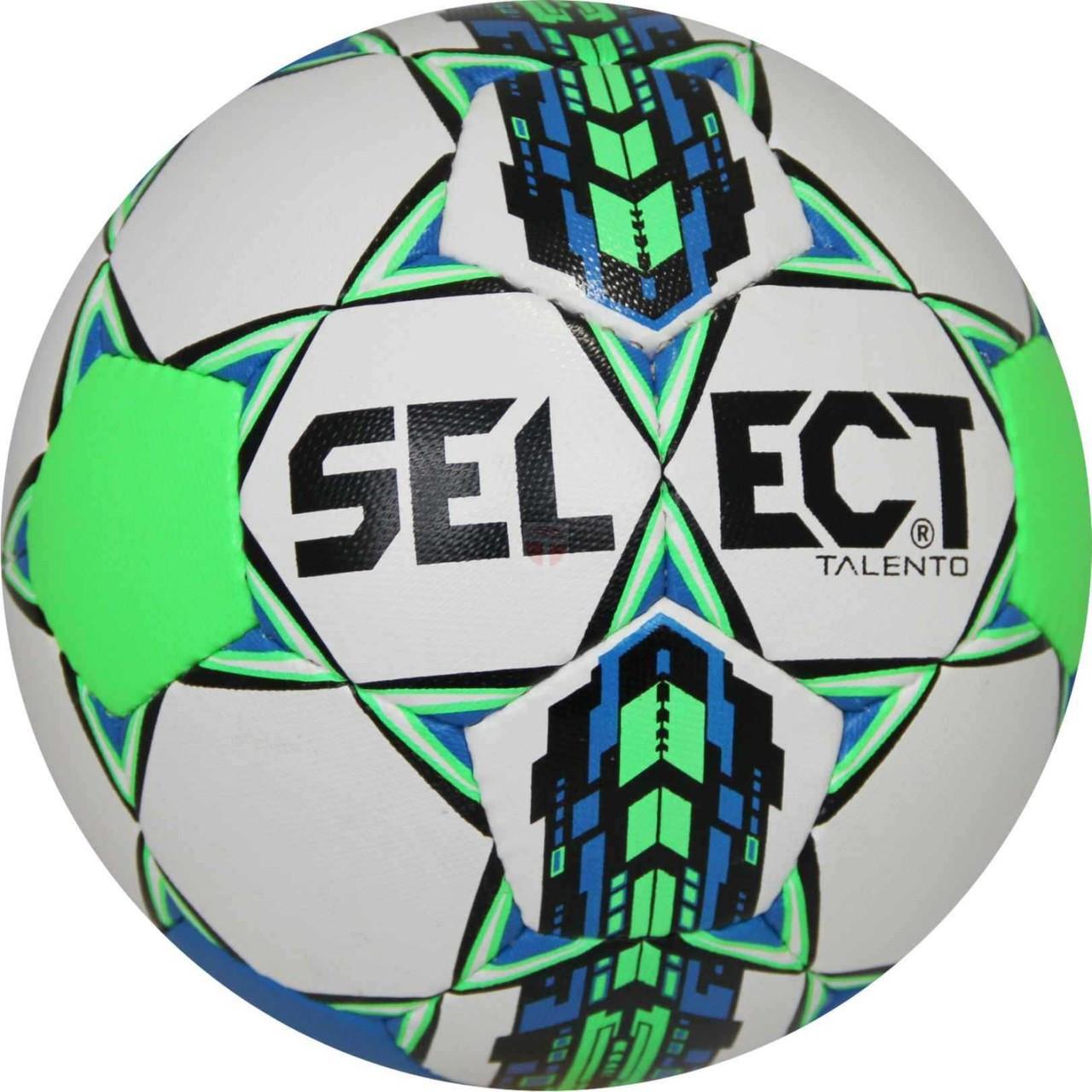 М'яч футбольний SELECT Talento (white / green light)