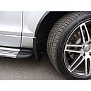Брызговики Audi Q7 2006-2015 (полный кт 4-шт), кт., фото 2