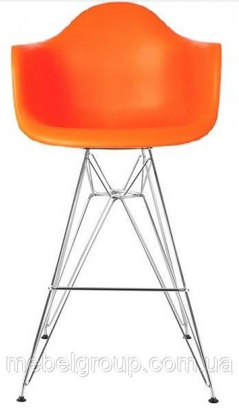 Стілець барний Тауер Eames помаранчевий