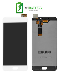 Дисплей (LCD) Meizu M6 с сенсором белый