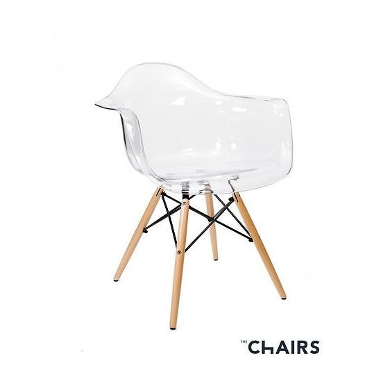 "Дизайнерский стул ""TWIST CLEAR"""