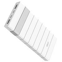 Power Bank (Внешний аккумулятор) Golf HELIX12 12000mah White-silver