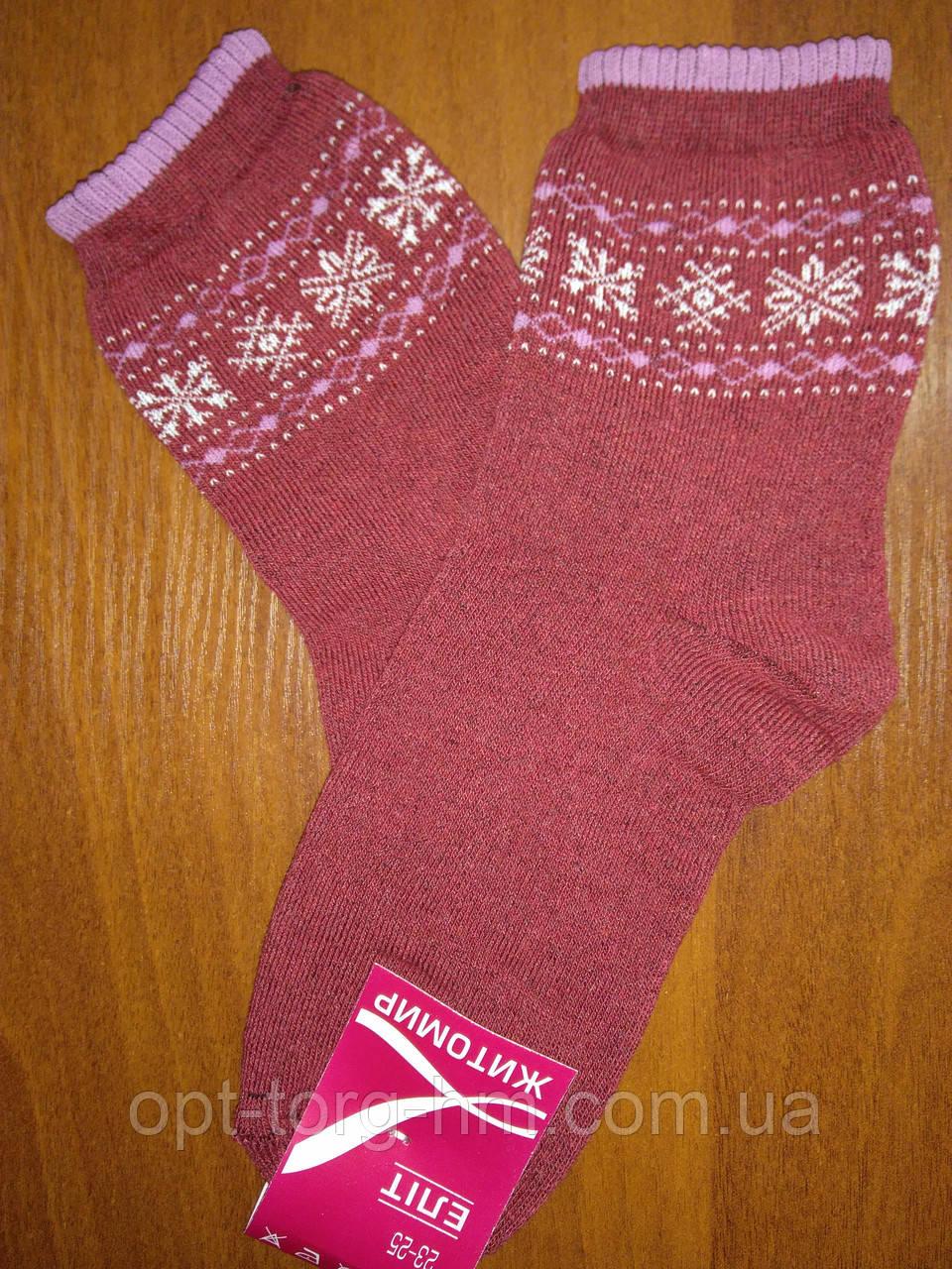 Махровые женские носки