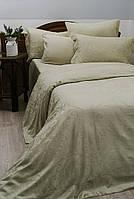 Жаккардовое постельное белье Deco Bianca сатин jk16-04 kus yesili кофейного  цвета евро размер e78e1569d55c4