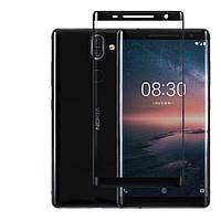 Защитное стекло с рамкой для Nokia 8 Sirocco