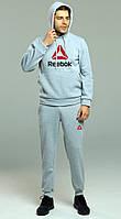 Зимний спортивный мужской костюм Reebok, рибок, фото 1