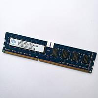 Оперативная память Nanya DDR3 4Gb 1600MHz PC3-12800 2R8 CL11 (NT4GC64B8HG0NF-DI) Б/У, фото 1