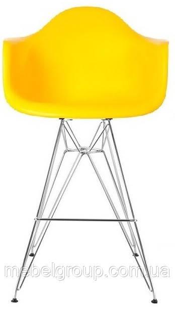 Стул барный Тауэр Eames желтый