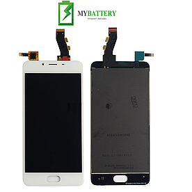 Дисплей (LCD) Meizu U10 (U680H) с сенсором белый