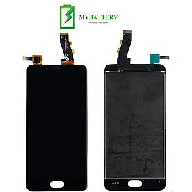 Дисплей (LCD) Meizu U10 (U680H) с сенсором черный