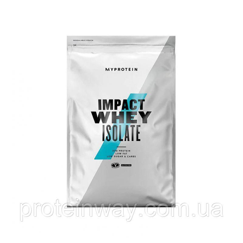 Myprotein Изолят Протеина Impact Whey Isolate 1000 g