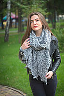 fde89b6f16ad Женский модный шарф Эстерсита ЕН-01 голубой/ графит