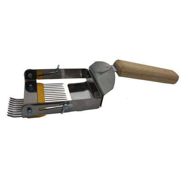 """Вилка раскладушка с деревянной ручкой """"Плюс"""""""