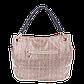 Женская сумка Realer P008 бежевая, фото 2