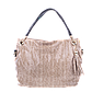 Женская сумка Realer P008 бежевая, фото 3