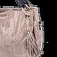 Женская сумка Realer P008 бежевая, фото 4
