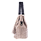 Женская сумка Realer P008 бежевая, фото 5